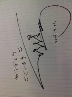 ロイ・チウさんの直筆サイン