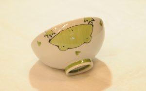 カエル飯碗(絵柄)