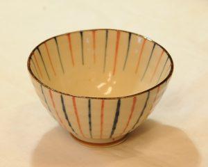 古代十草飯碗(赤・内)