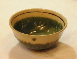 緑宝飯碗(内)