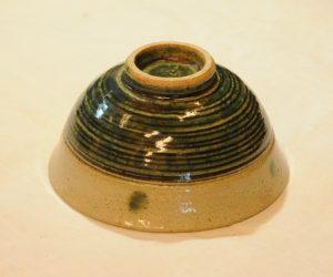 緑宝飯碗(底)