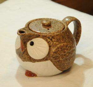 ふくろう急須(茶)