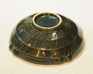 織部格子鉢(底)